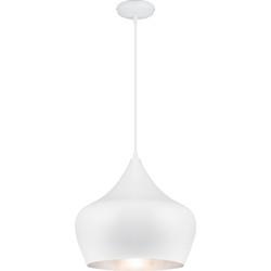 Linea Verdace Hanglamp Tipi Ø38 Cm Mat Wit - Zilver