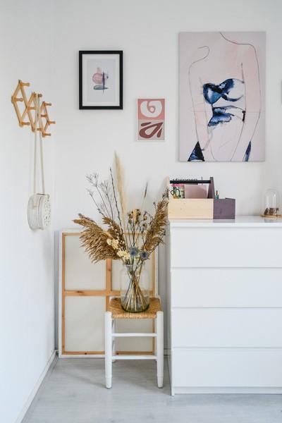 Shoppen: de mooiste droogbloemen met bijpassende vazen