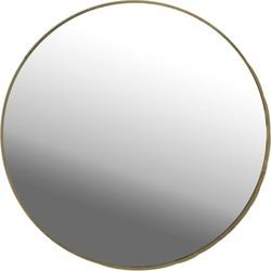 Casa Vivante spiegel Grazia goud 27 cm doorsnede