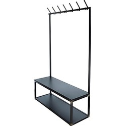 Spinder Design Diva Staande Kapstok - Blacksmith/Zwart