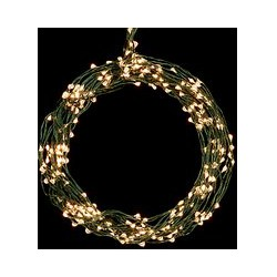 John Lewis 160 LED Christmas Lights, Pure White, 17m