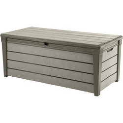 Keter Brushwood opbergbox 145x69,7xH60,3 cm - taupe