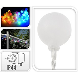 Party Lighting LED Multicolour Feestverlichting Prikkabel, 80 Lampen, 16 Meter, IP44