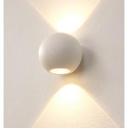 Wandlamp LED Denver WIT IP54