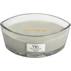 Woodwick Fireside ellipse heartwick candle