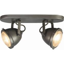 LABEL51 - LED Spot Moto 2-Lichts 35x12x16 cm - Industrieel -