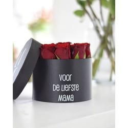 Rozen Giftbox Voor de liefste mama