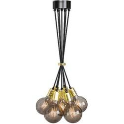 Het Lichtlab Hanglamp - No.3 Bundel 7 lichts - Metaal - Goud