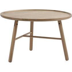 Fia Coffeetable - Houten salontafel - Ø80 x H50 cm - Naturel
