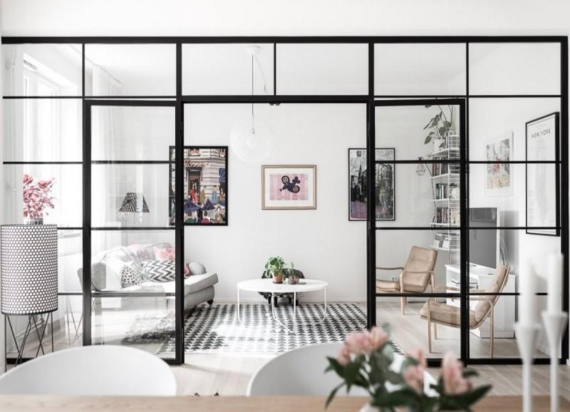 Eine Glaswand die für Durchblick sorgt