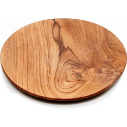 The Teak Root Round Plate - XL