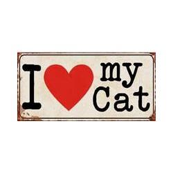 magneet I Love My Cat