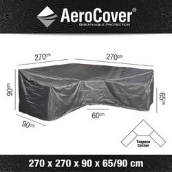 AeroCover loungesethoes hoekset trapeze 270x270x90xh65/90 - antraciet