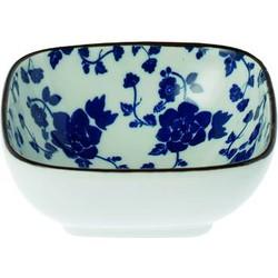 Schaaltje Floral blauw 9cm