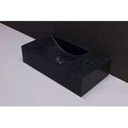 Forza Venetia Fontein kraangat links 40x22x10 cm Graniet gezoet
