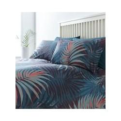 Linea Palm Digital Print Duvet Set