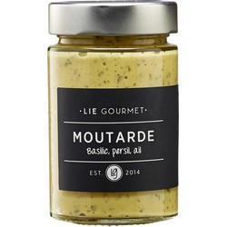 Lie Gourmet Mosterd peterselie basilicum knoflook