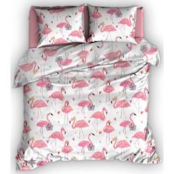 Satin d'Or dekbedovertrek Flamingo-240x200/220