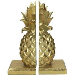Kersten boekensteun ananas goud
