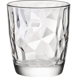 Bormioli Rocco Diamond Water glas - 300 ml - Set-6