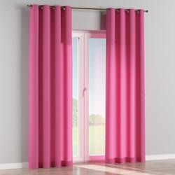 Gordijn met ringen roze