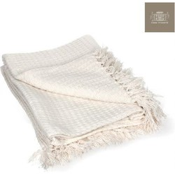 Casa Vivante Plaid 130x170cm Off White