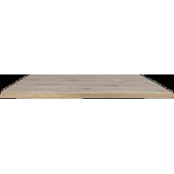 Boomstam tafelblad - 220x100 cm - massief eiken