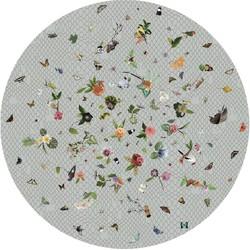 Carpet Moooi Garden of Eden Lightgrey vloerkleed - 350 x 350 cm