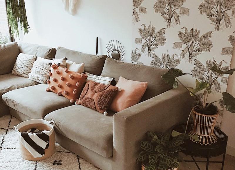 Deze behangetjes passen het beste bij een Scandinavisch, industrieel of bohemien interieur