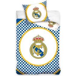 Dekbedovertrek Real Madrid C.F. - Checkers - 140x200 + 1 Kussensloop 70x80cm