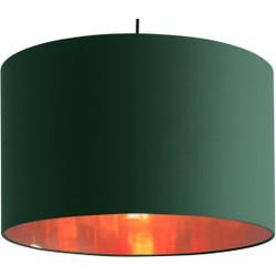 Hue extra grote lampenkap, groen en koper