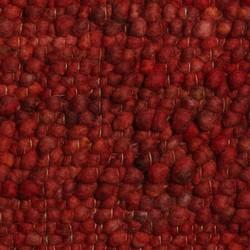 Wollen Vloerkleed Rood Pebbles 010 - Perletta - 130 x 200 cm