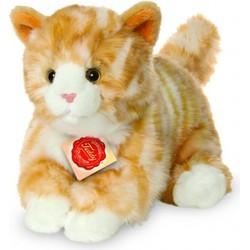 Knuffel Kat Rood Getijgerd - Hermann Teddy