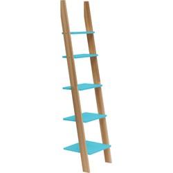 ASHME ladder breedte 45cm  donker turquoise