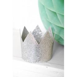 Delight Department  Feestkroontjes Zilver | 8 stuks