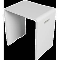 Riho Solid Surface zitje Matwit 43x40x29 cm
