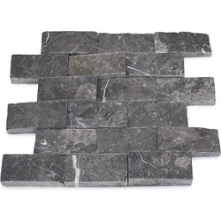 Toros Black Splitface 4,8 x 10 x 1 cm