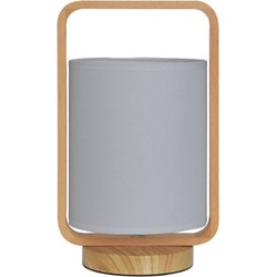 Nippon tafellamp - grijs - 13,5 x 33 cm
