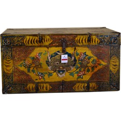 Fine Asianliving [PREORDER WEEK 48] Traditional Tibetan Storage Chest Handmade
