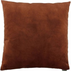 Sierkussen Adona kleur Rust - 50 x 50cm