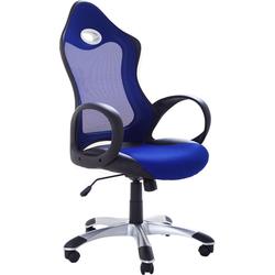 Computerstoel - Burostoel - Bureaustoel - iChair blauw