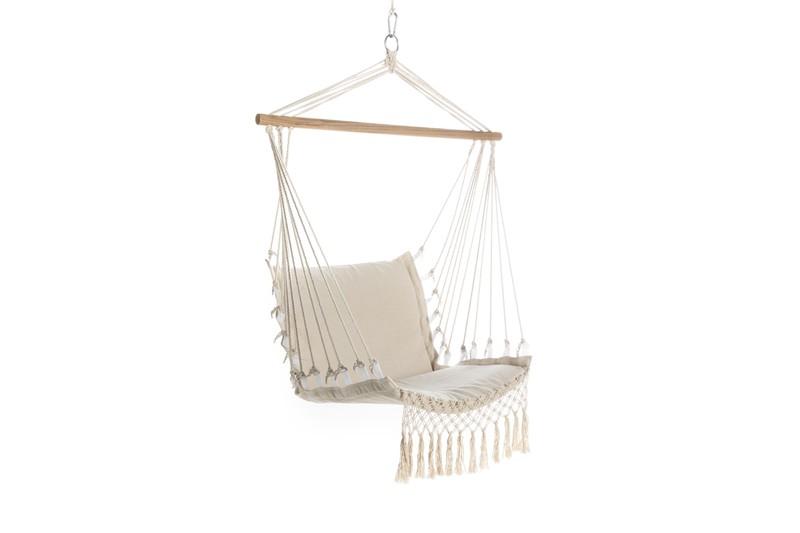 Hk Living Hangstoel Buiten.Hangstoel Outdoor Creme Lifa Living