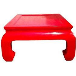 Fine Asianliving Chinese Salontafel Rood Massief Hout