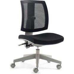 24Designs Kinderbureaustoel Flexis - Zwart
