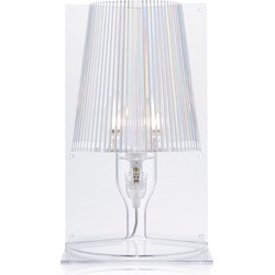 Kartell Take Tafellamp Kristal - 30 cm