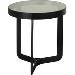 Spinder Design Bijzettafel Douglas 1 Blacksmith Glas