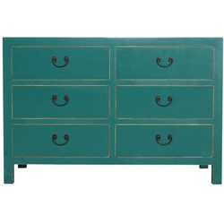 Fine Asianliving Fine Asianliving Chinese Ladekast Teal