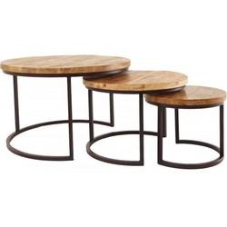 AnLi-Style Salontafelset Oxford Set Van 3