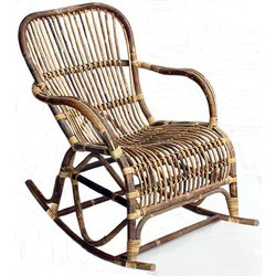 Rotan rocking chair (schommelstoel)