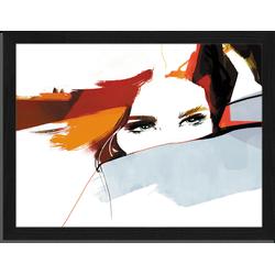 Love - Fotoprint in houten frame - 30 X 40 X 2,5 cm